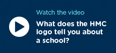 What does the HMC logo tell you about a school?