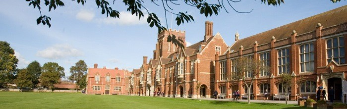 Eastbourne College building web