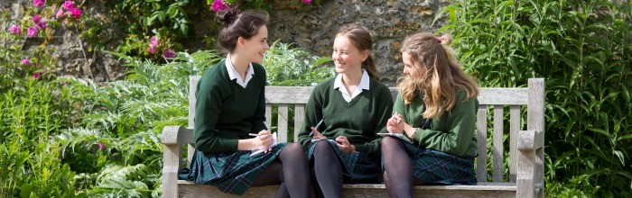 Sherborne Girls bench