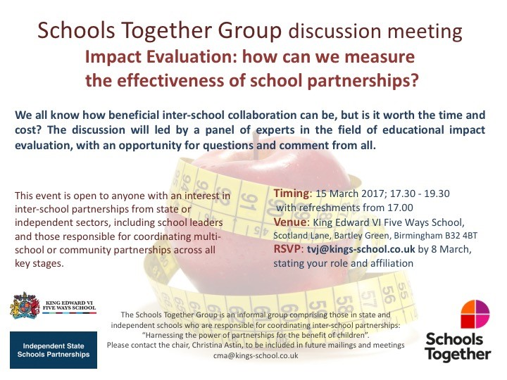 Schools Together Partnership Group Meeting